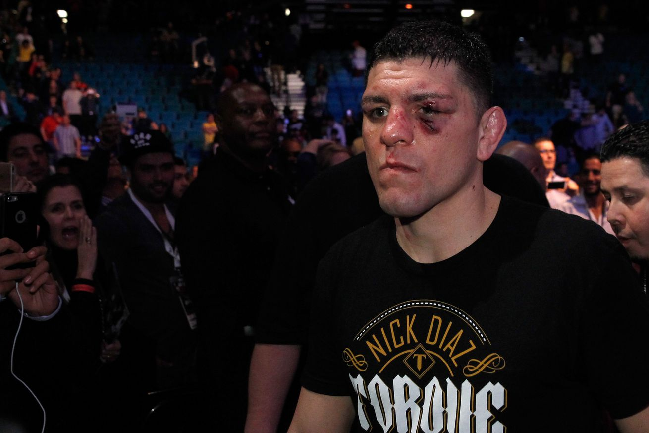 UFC 209: Nick Diaz turned down Tyron Woodley title fight because of short arms and deep pockets