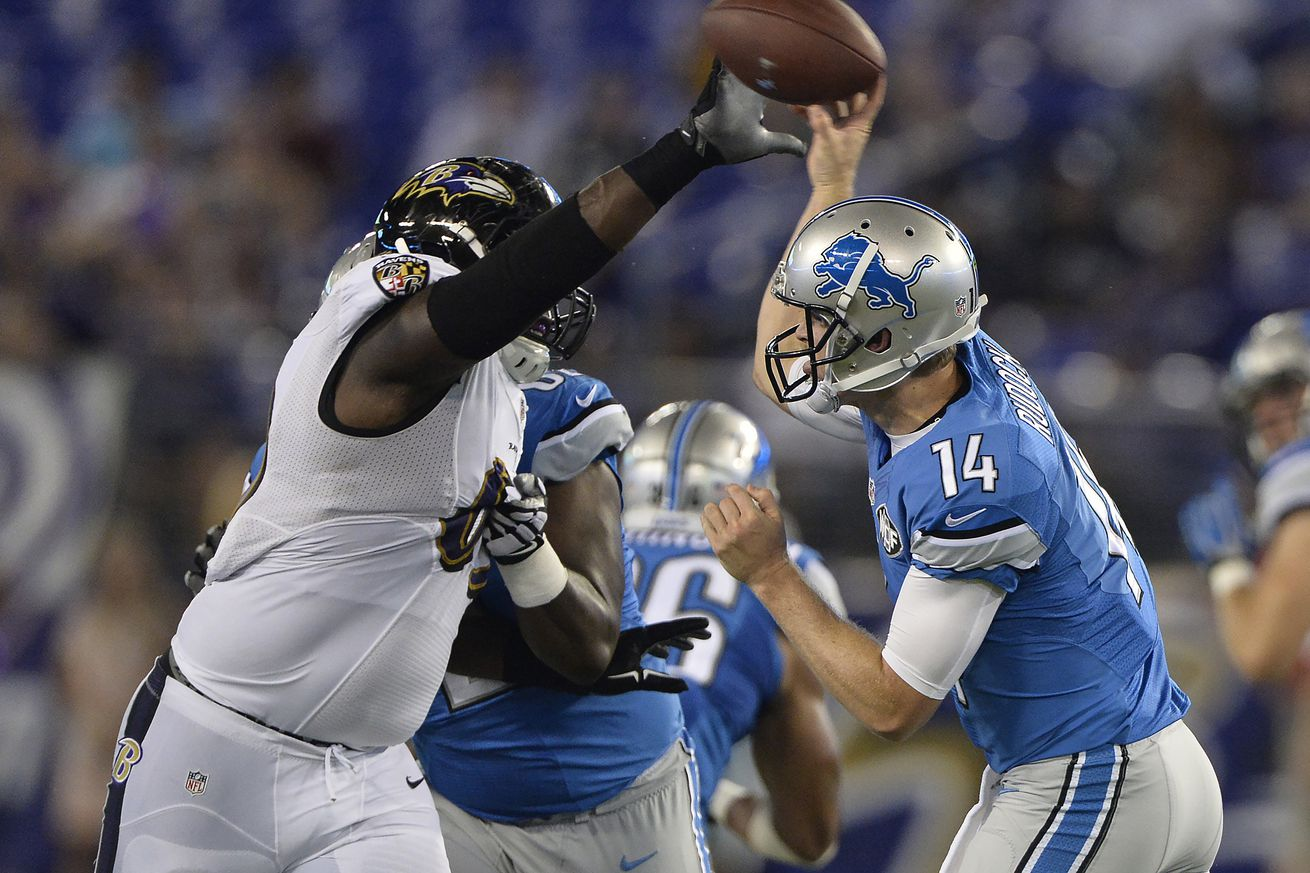 Nike NFL Youth Jerseys - Ex-Michigan QB Jake Rudock struggles as Detroit Lions fall to ...