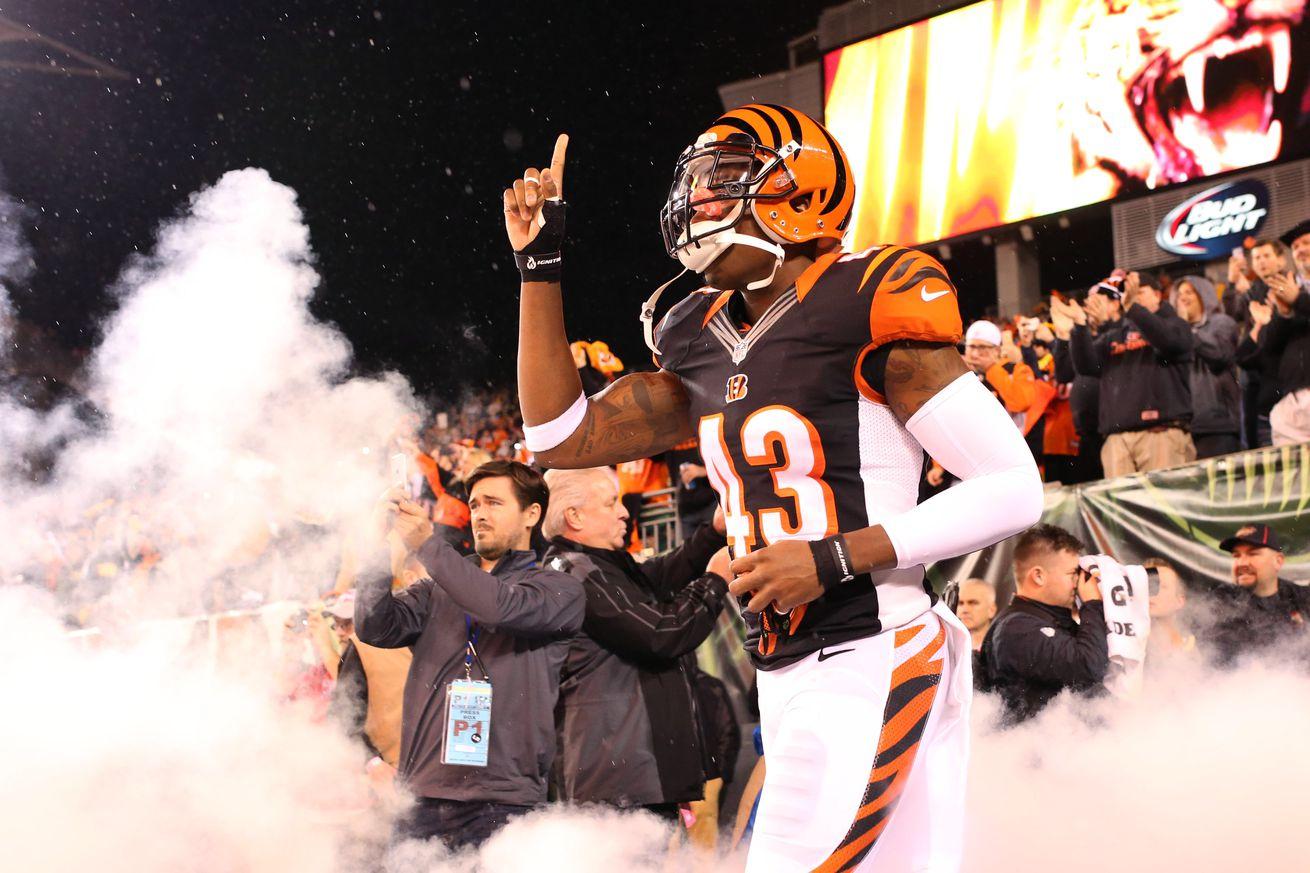 NFL Jersey's Youth Cincinnati Bengals George Iloka Team Color Jersey