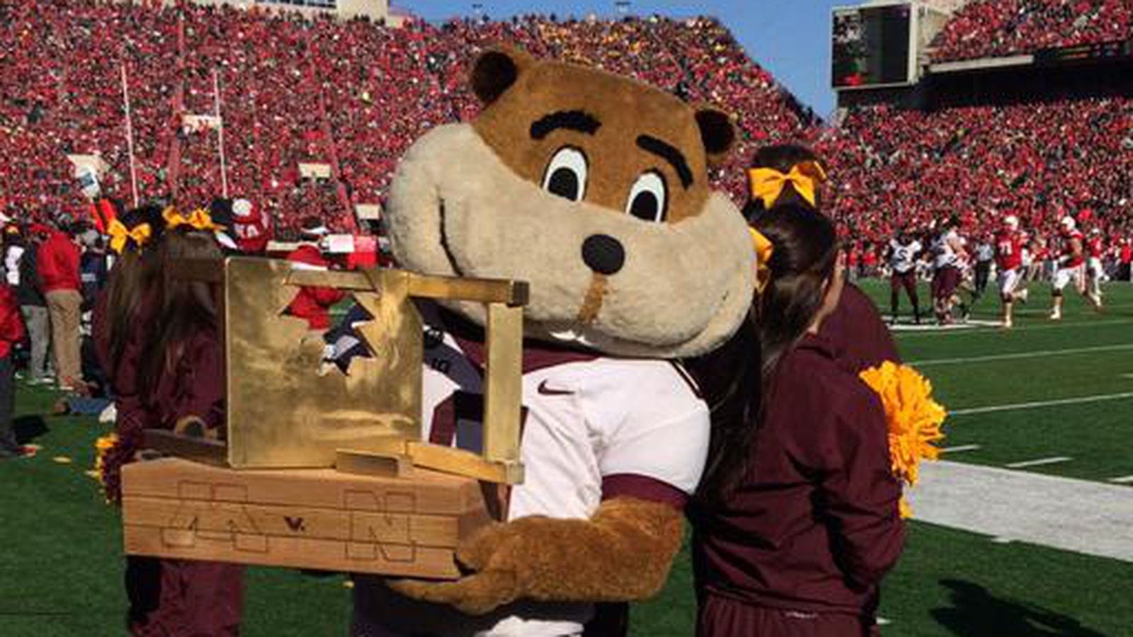The Internet Made A Minnesota Nebraska Rivalry Trophy