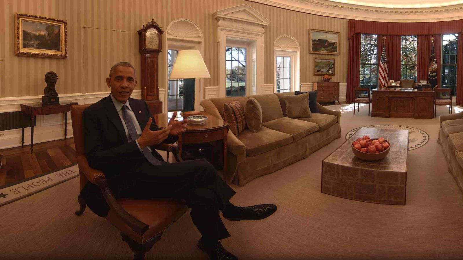 Tour Obama's White House one last time in VR