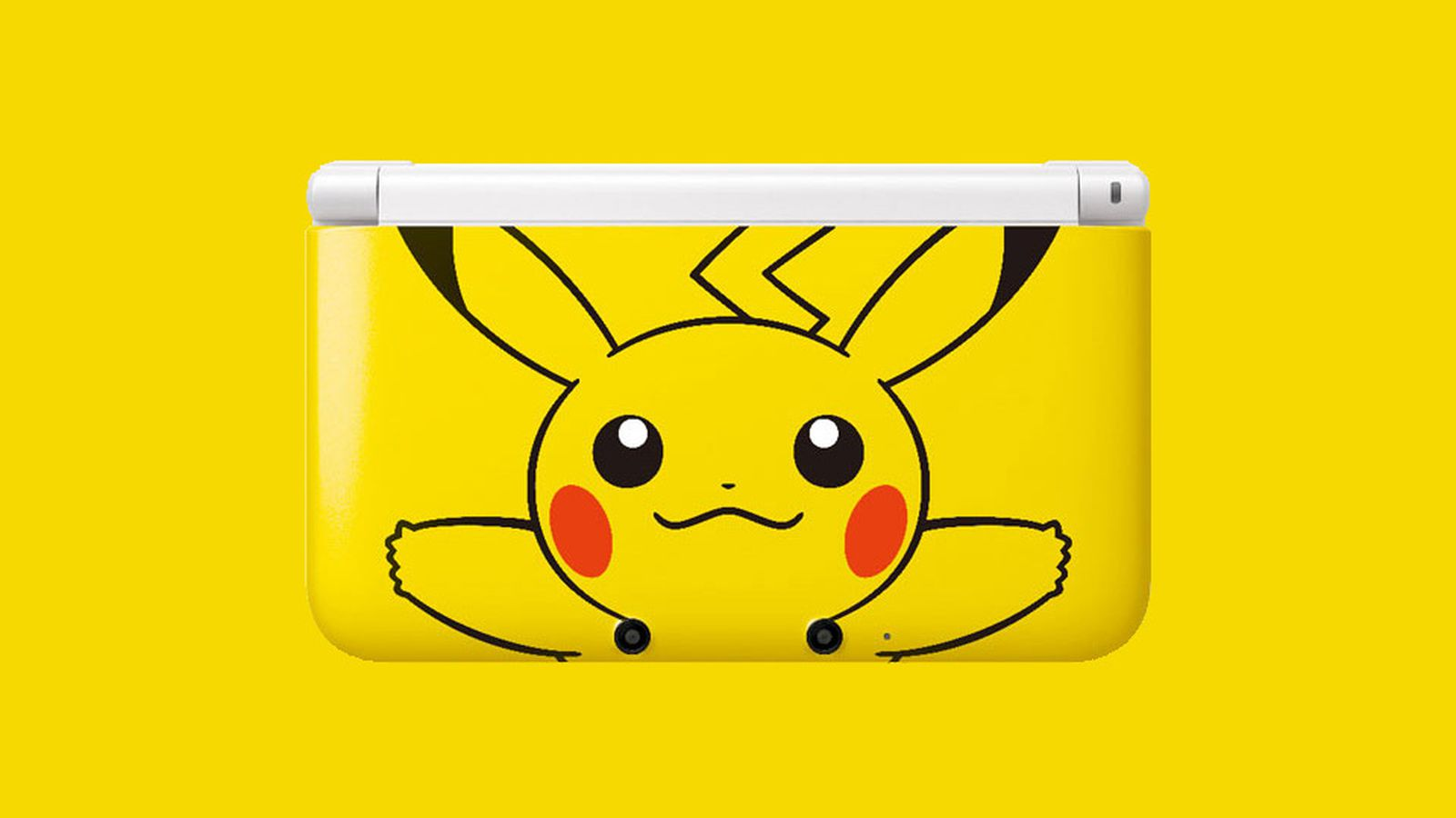 Special pikachu nintendo 3ds xl appears north america for 3ds xl pikachu achat