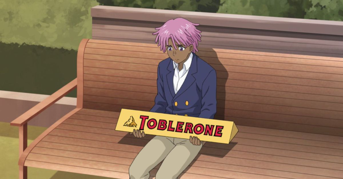 Neo Yokio's big Toblerone is real, to the internet's delight