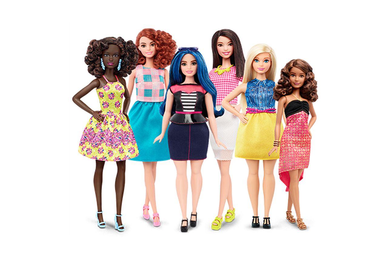 Le nuove Barbie: arriva la versione curvy