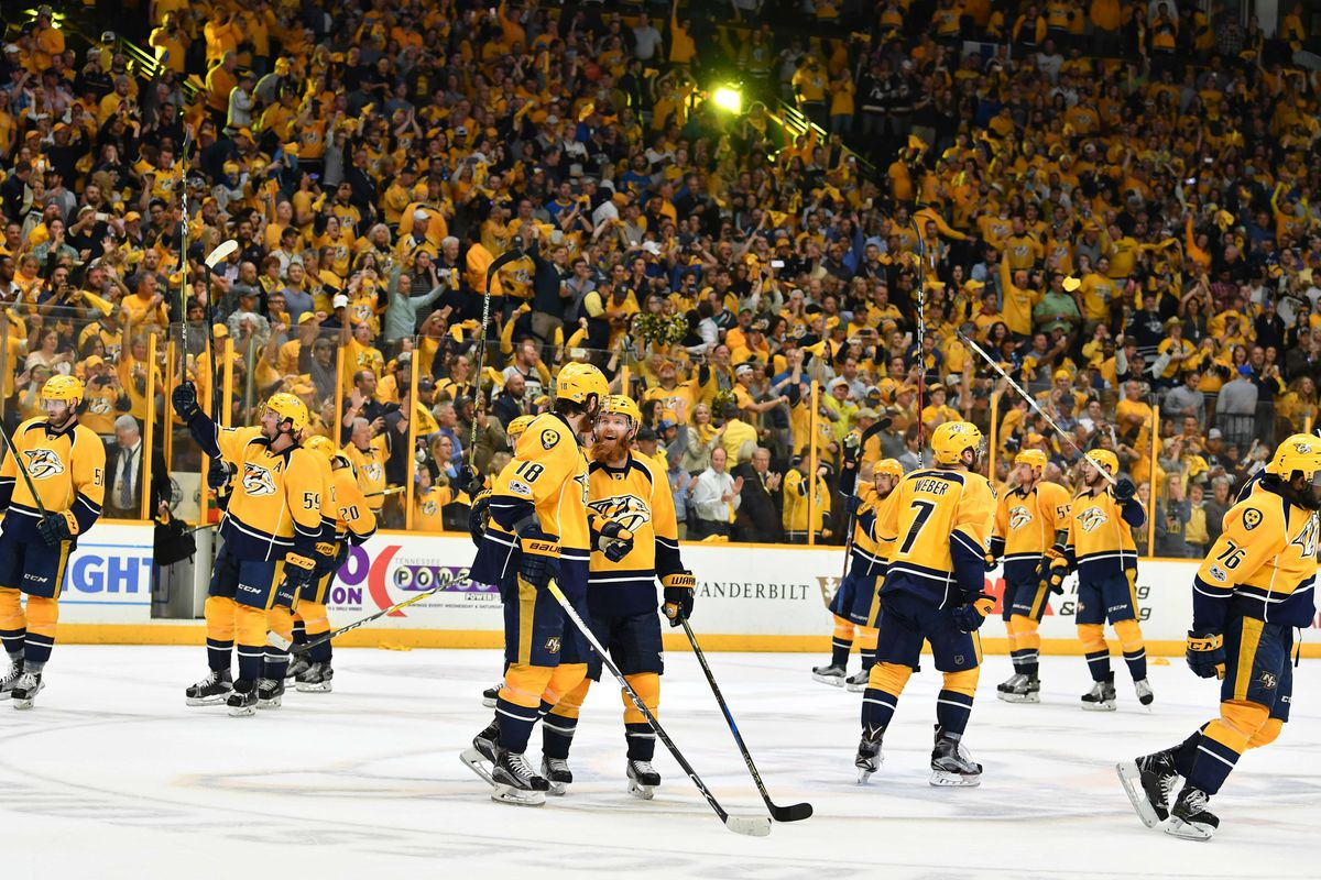 Predators take first Stanley Cup playoffs game 3-2 against Ducks