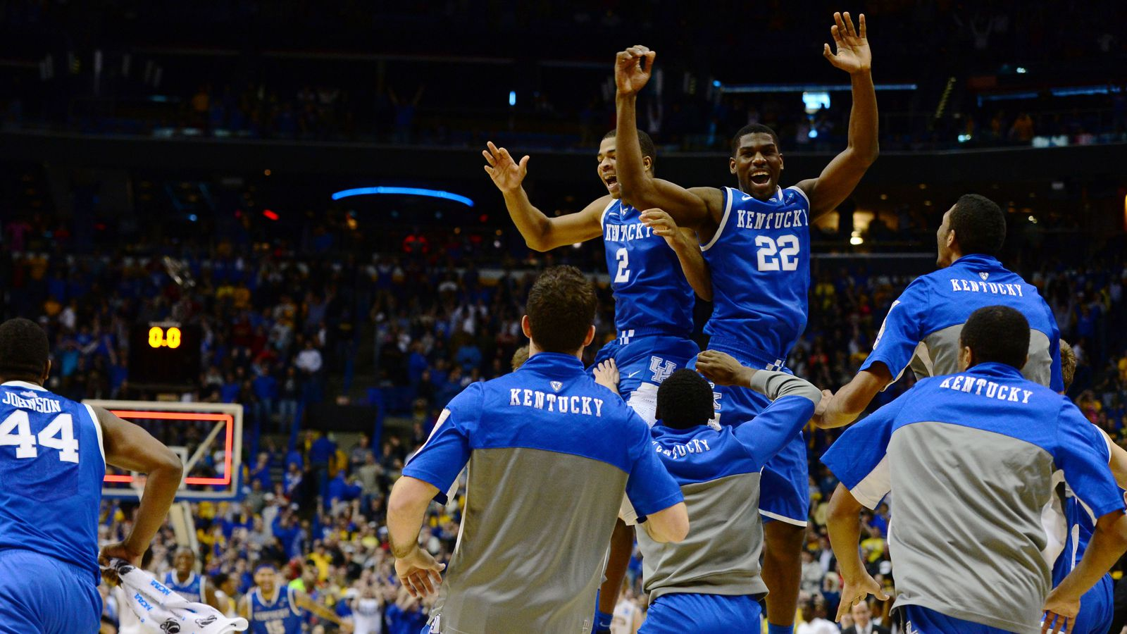 What S So Special About Kentucky Basketball: NCAA Tournament Schedule: Sweet 16 Set