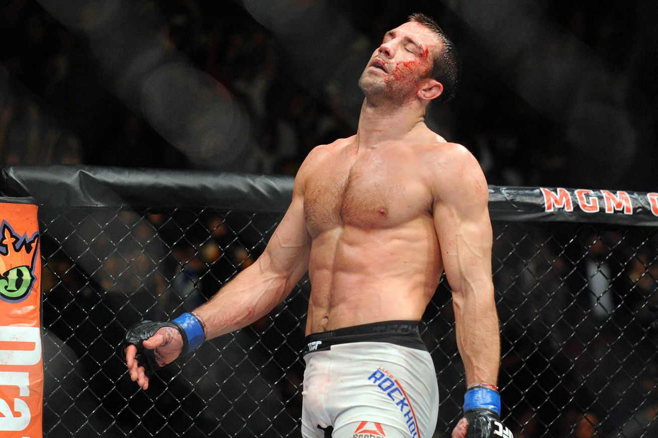 community news, Luke Rockhold on Michael Bisping vs. Georges St Pierre title fight: This is fighting, not WWE