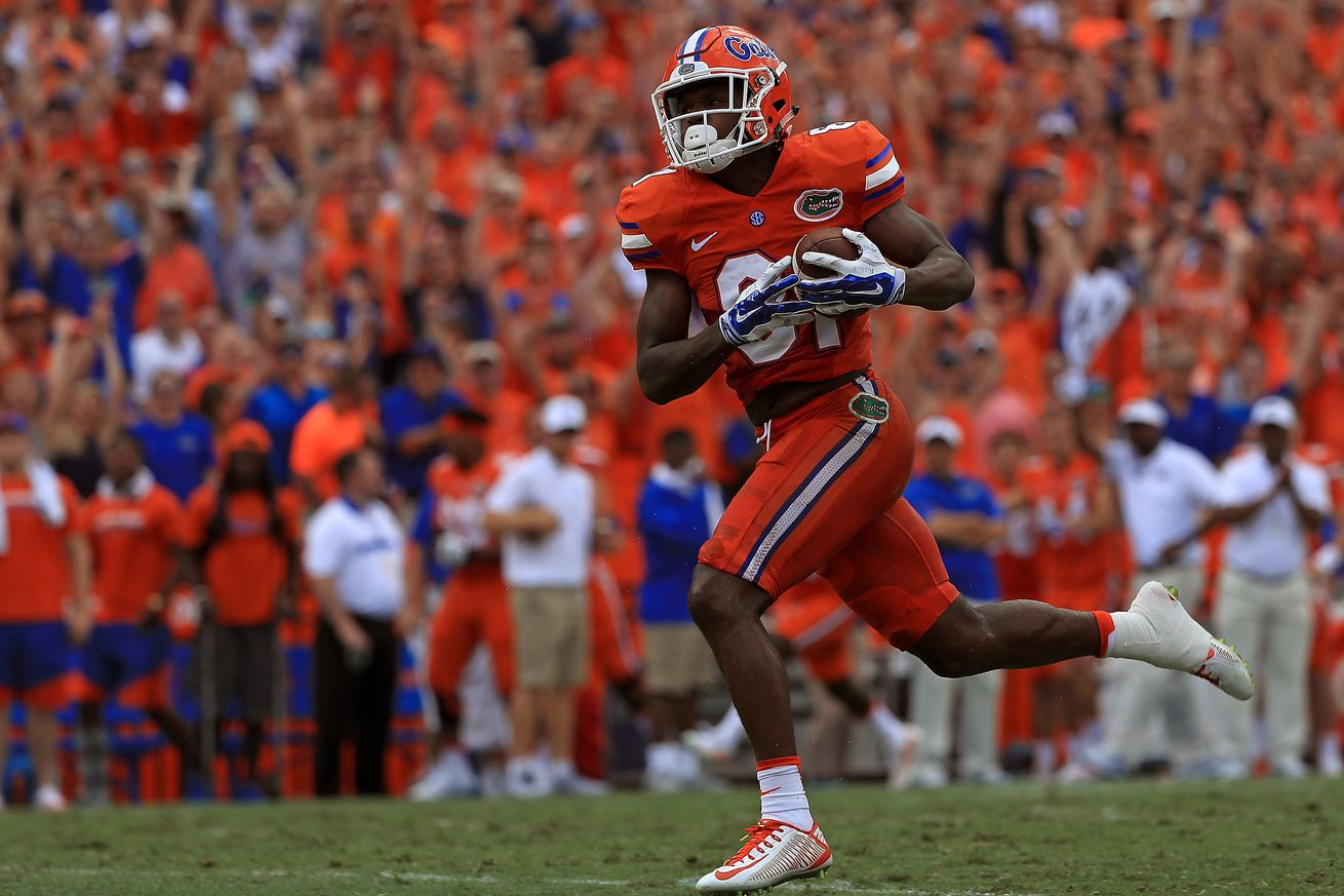 Florida's Callaway 'highly questionable to doubtful' to play