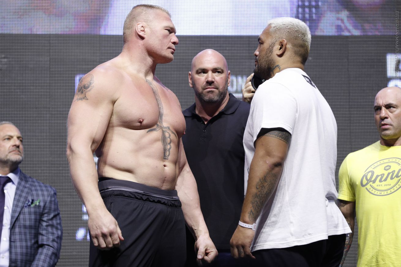 community news, UFC 200 live blog: Brock Lesnar vs. Mark Hunt