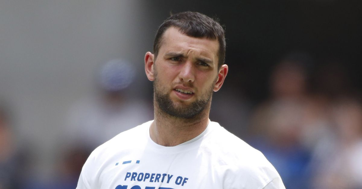 Its summer time and as everyone plans their vacations Colts quarterback Andrew Luck is busy working summer camps