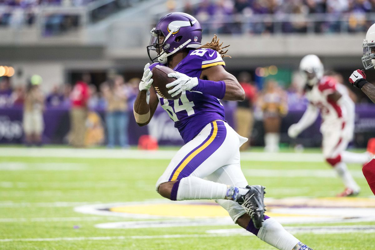 WR Cordarrelle Patterson is going to be a Raider