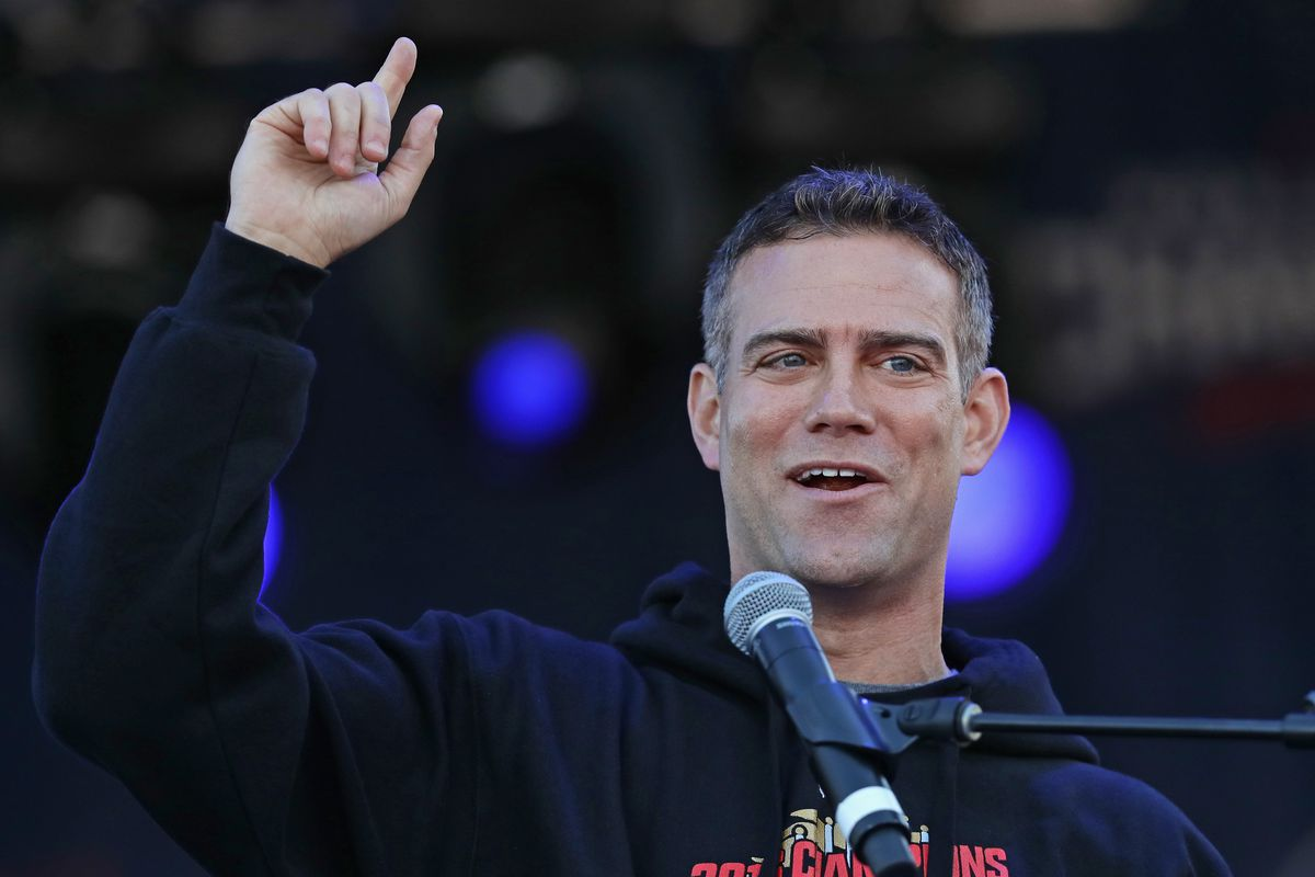 Theo Epstein has fantastic response to being named greatest leader