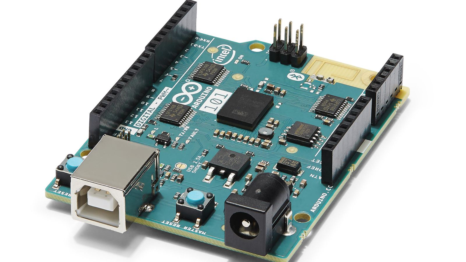 This new arduino board is the first product to use intel s