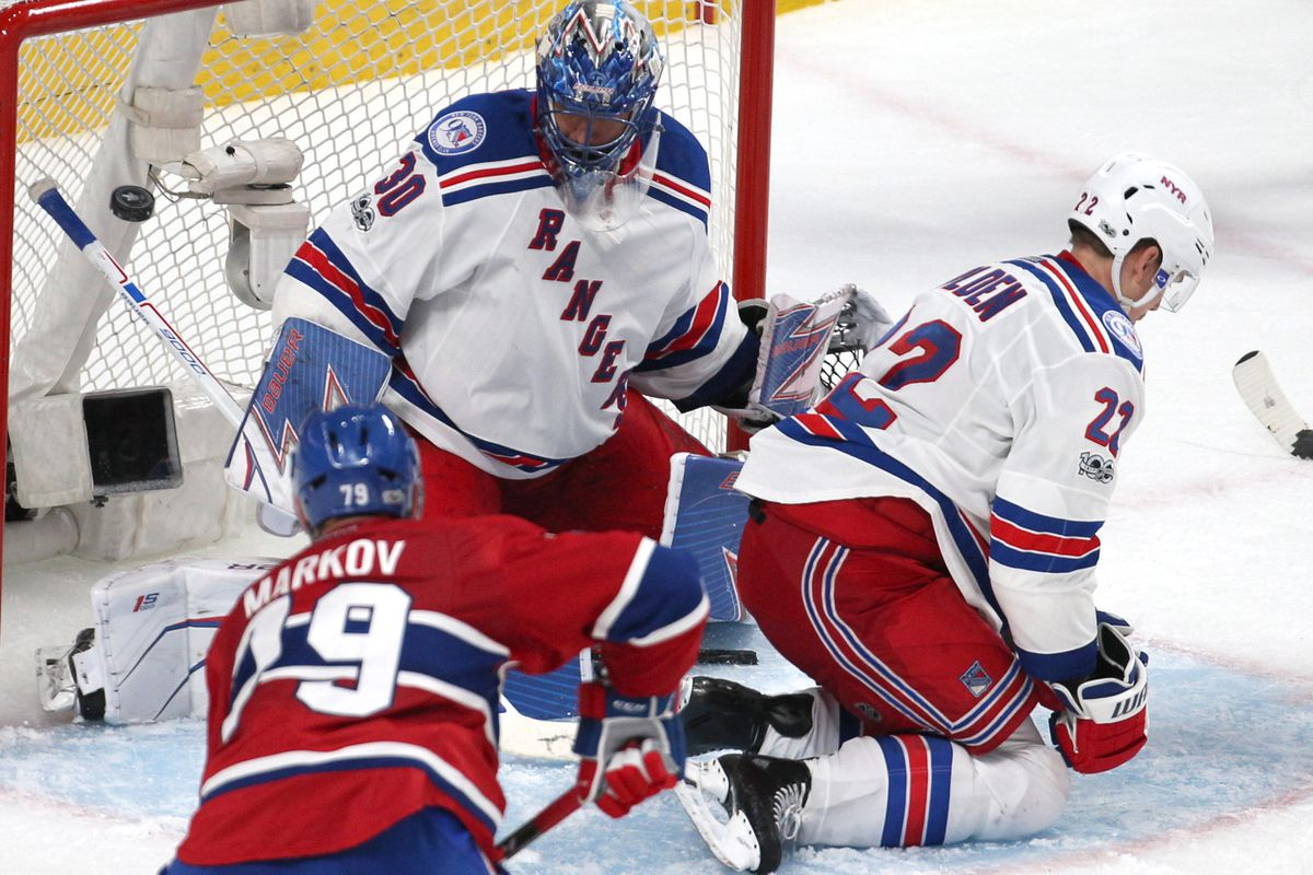 Canadiens vs. Rangers Game 4 by the Numbers: Second period woes