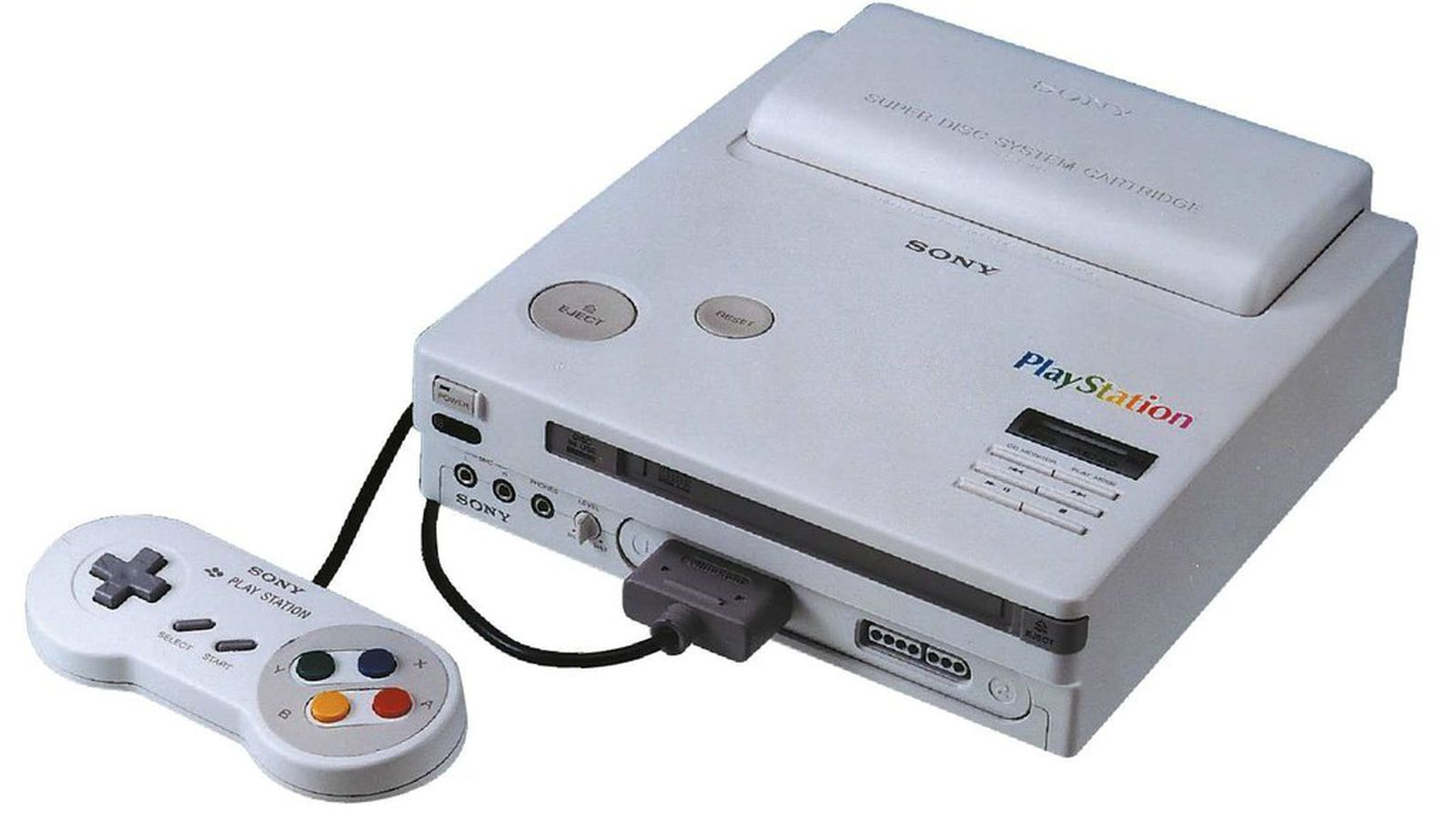 The Nintendo PlayStation prototype can finally play CD-ROM games