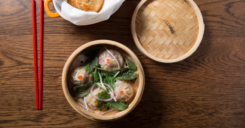 Pho Soup Dumplings for Breakfast at Dale Talde's Rice & Gold
