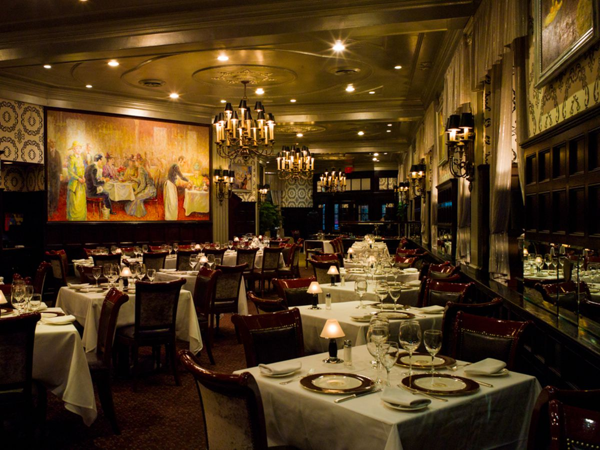 A guide to navigating the steakhouses of new york city for Nick s fish house menu