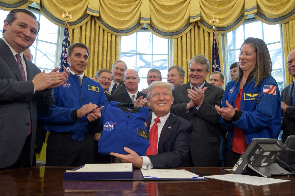 Donald Trump finally provided a clue about NASA's future