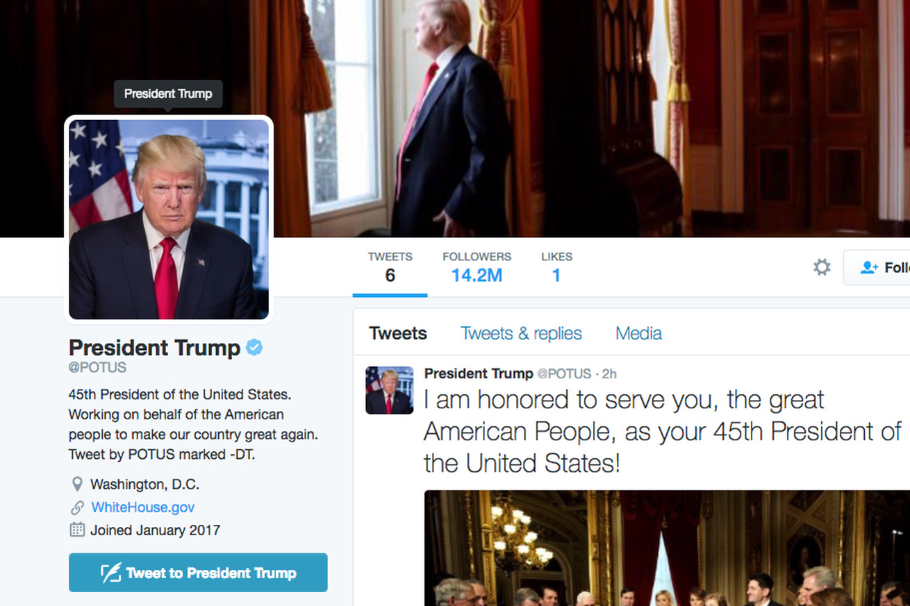 yesterday s potus transition didn t go so smoothly for twitter