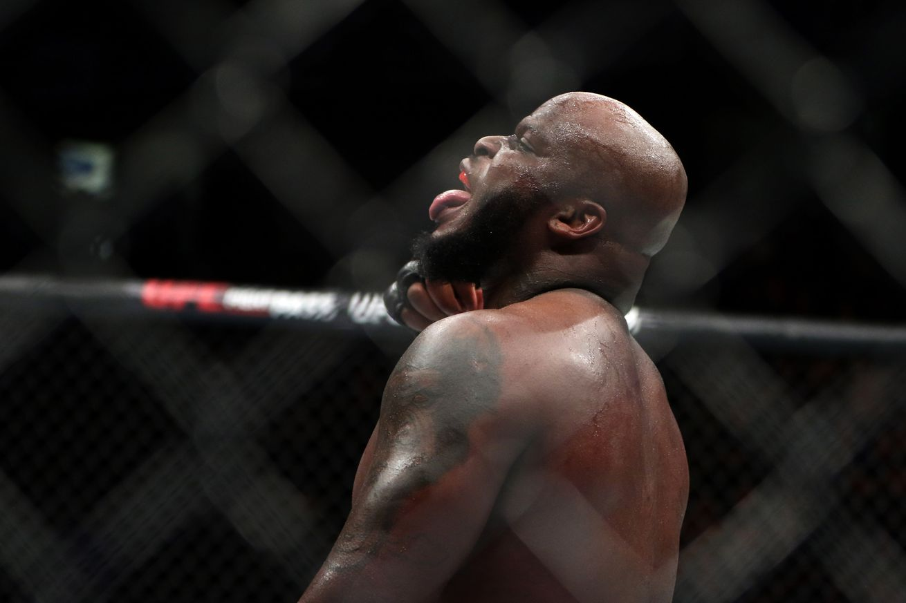 Midnight Mania! Derrick Lewis hits Rousey's boyfriend below belt with wife beater snipe