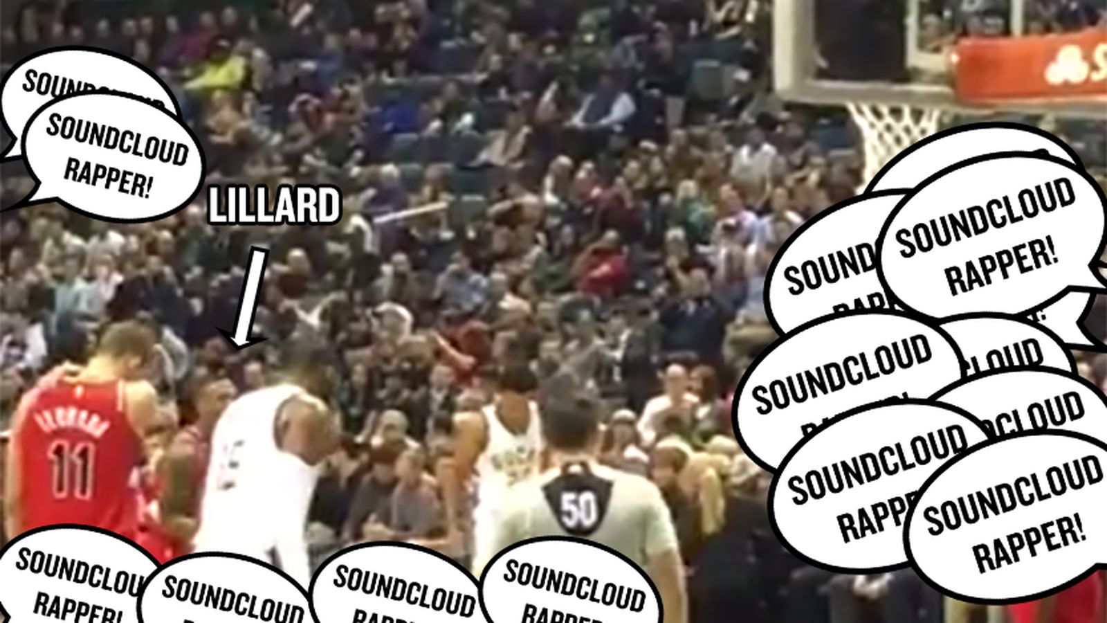 Damian Lillard Taunted By Bucks Fans Chanting Soundcloud