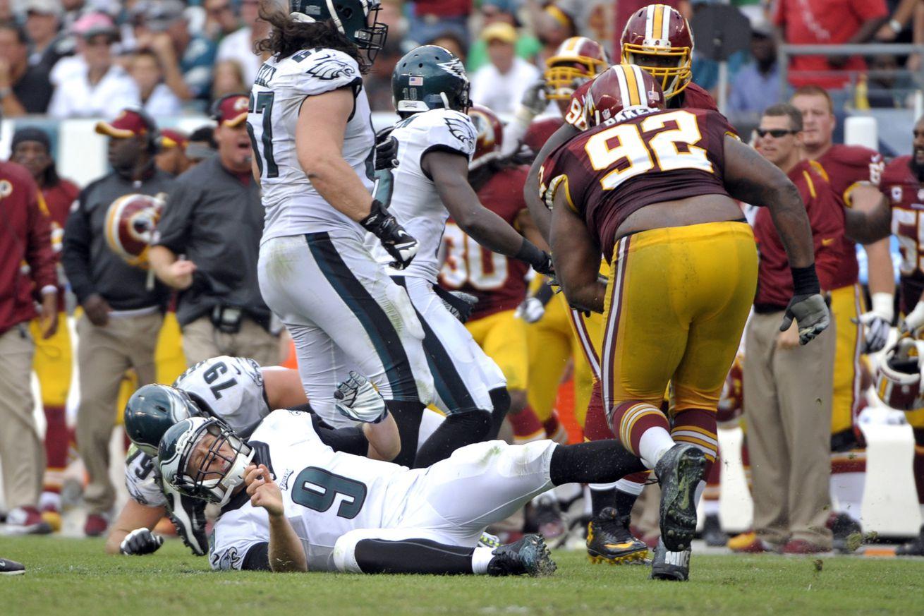 NFL Jerseys Wholesale - Eagles-Redskins: NFL Rulebook explains why Chris Baker's hit on ...