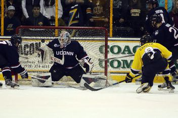Hockey East: Merrimack Scores Late, Settles For Tie With UConn