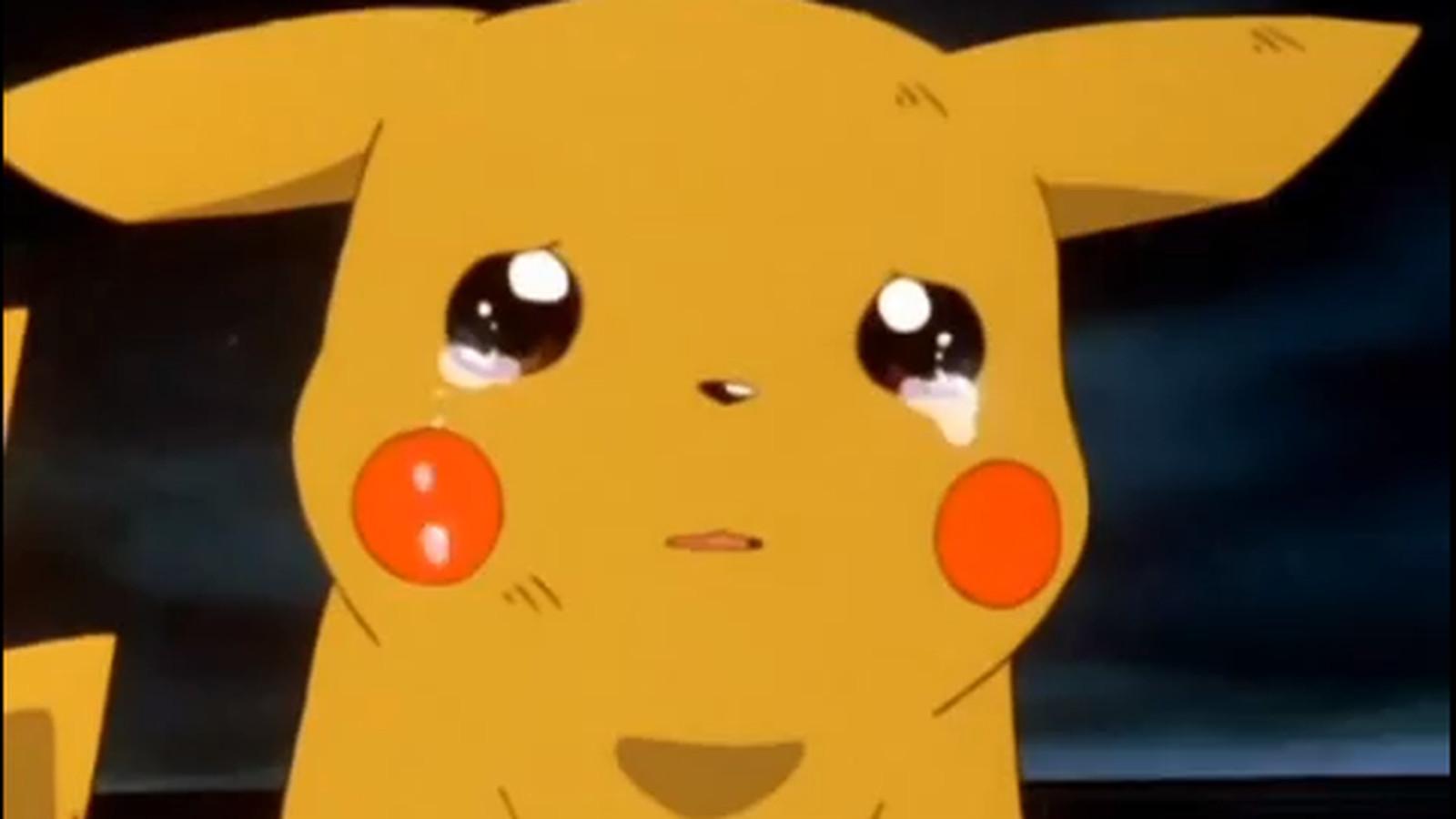 Pobre Pikachu, ele ficou triste ao saber que esse jogo não vai ser lançado =/
