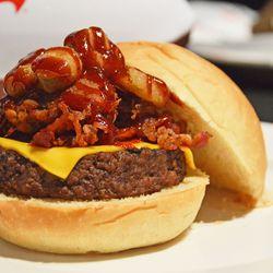 All-American Pigskin Burger