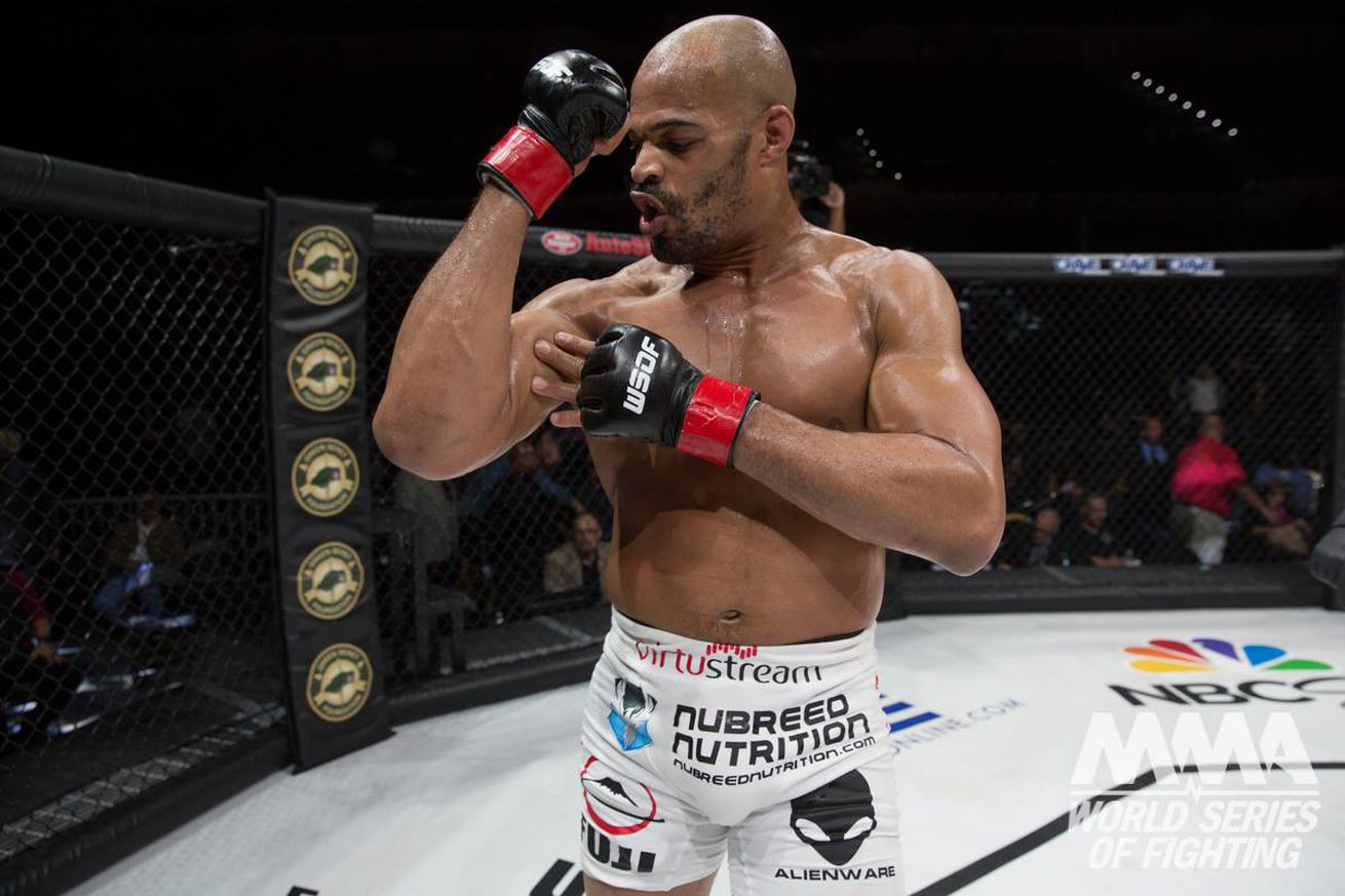 community news, Looking to 'grow,' David Branch relinquishes his WSOF titles, officially a free agent