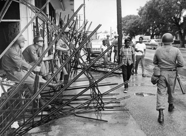 Miami during race riots.