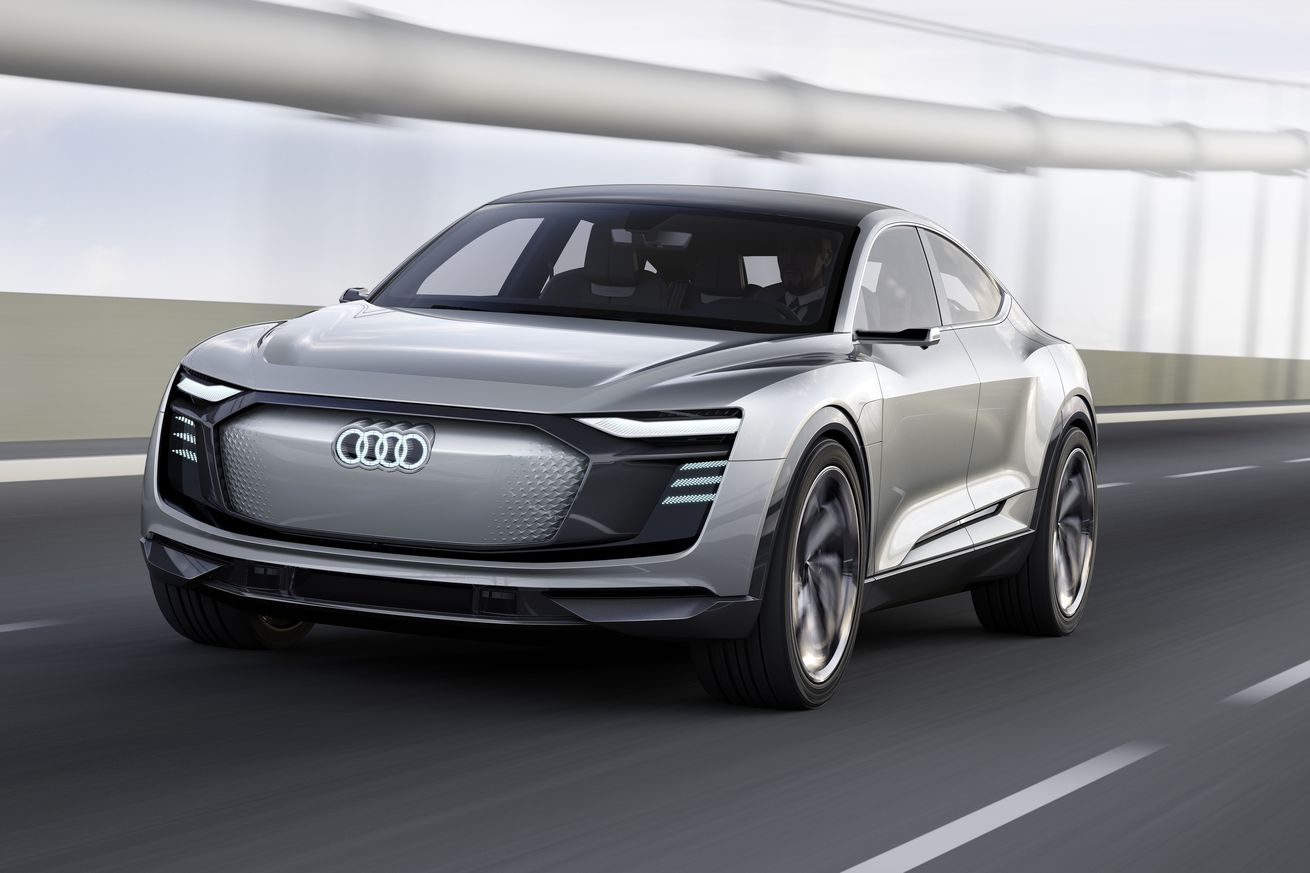 Audi's new electric car concept is pretty obviously from the future