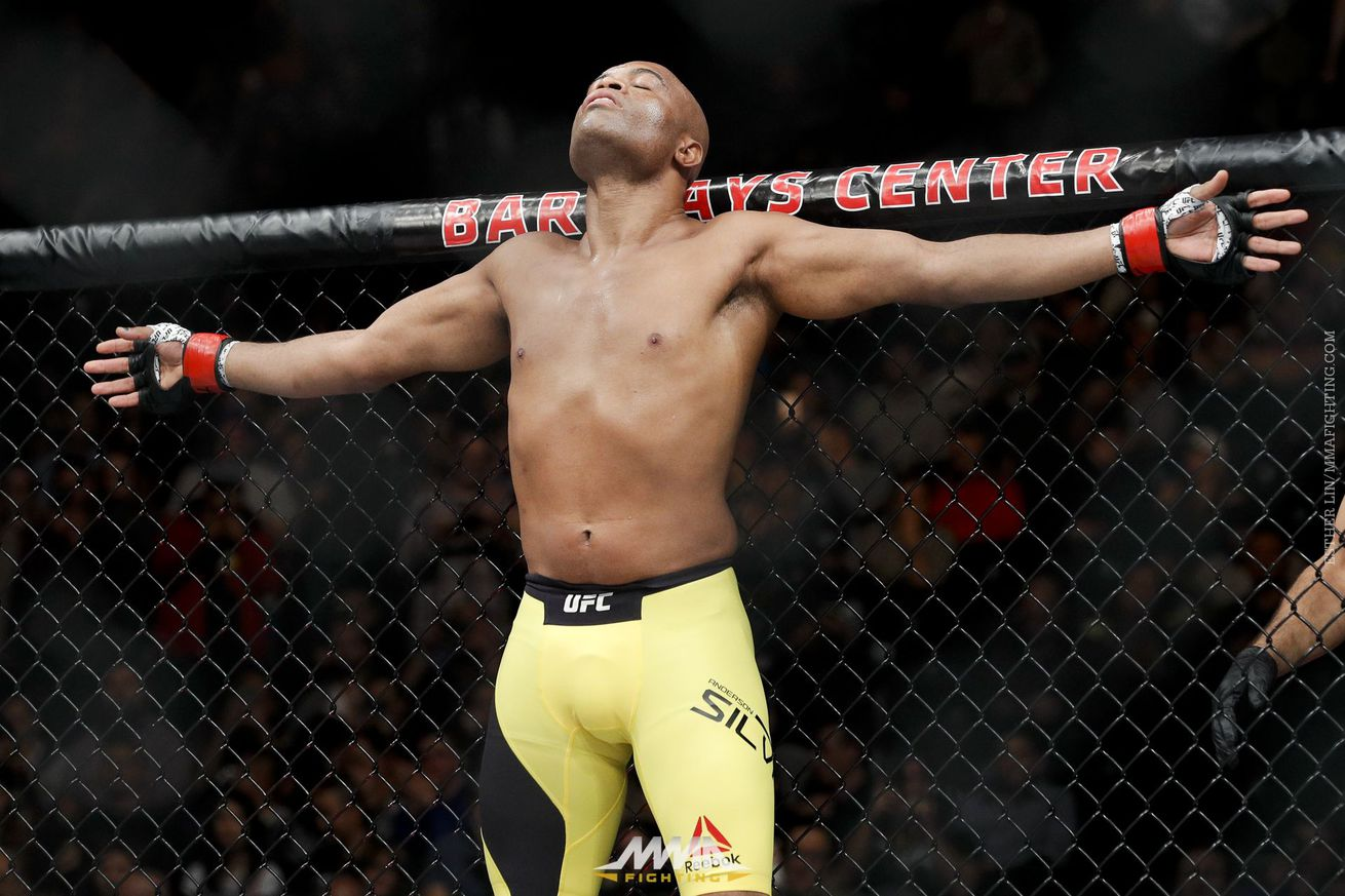 Anderson Silva explains why he's willing to fight Nick Diaz, not Vitor Belfort or Luke Rockhold, at UFC 212