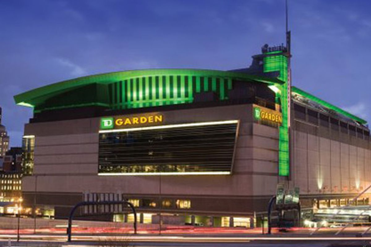 What to eat at td garden home of the celtics and bruins eater boston for Places to eat near madison square garden