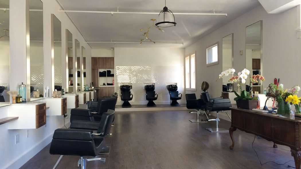 This Is What A Hybrid Hair Salon And Art Gallery Looks
