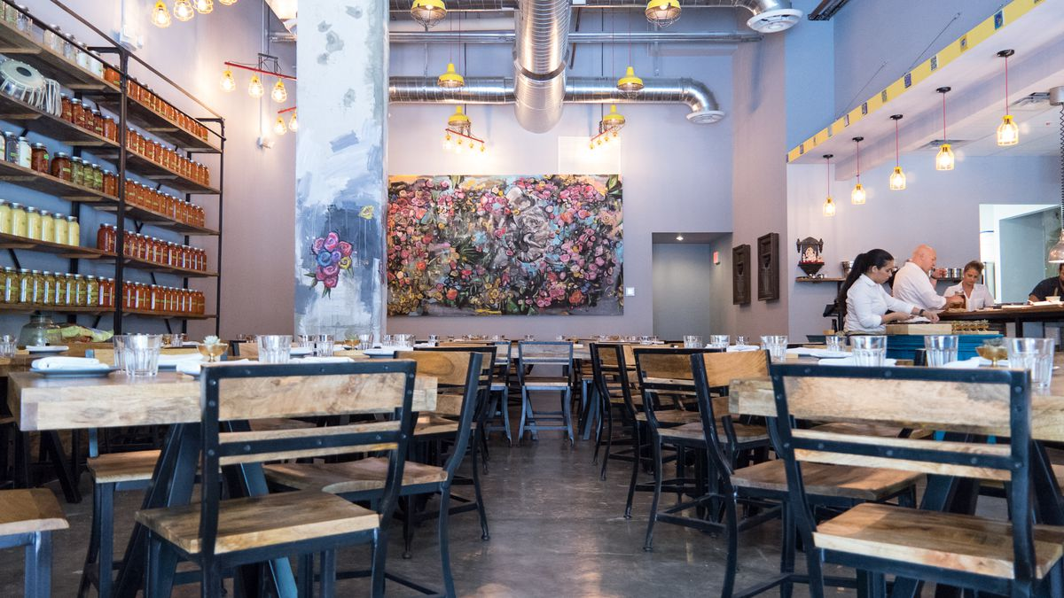 Inside The Bright Modern Space At Ghee Indian Kitchen