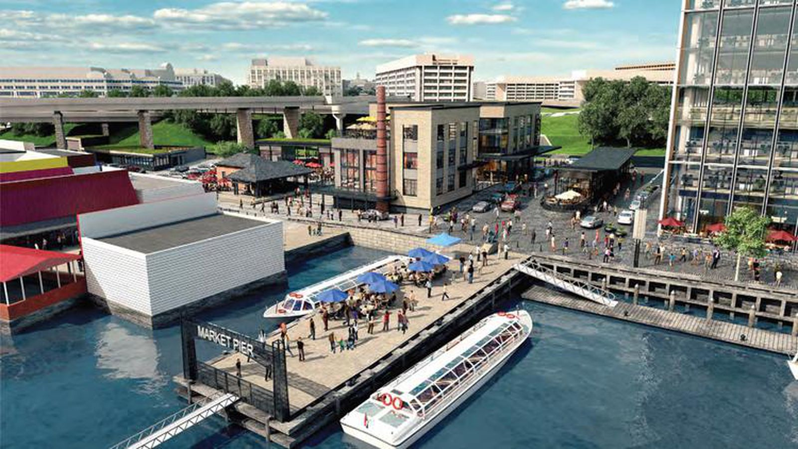 Waterfront fish market to get whole new look in two years for Fish market philadelphia