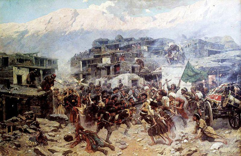 caucasian war wikicommons