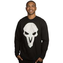 """This men's <a href=""""https://www.jinx.com/p/overwatch_reaper_pullover_hoodie.html"""">Reaper sweatshirt </a>is a slim fit, runs from Small to 3X and features our favorite dark and angsty Hero. $44.99"""
