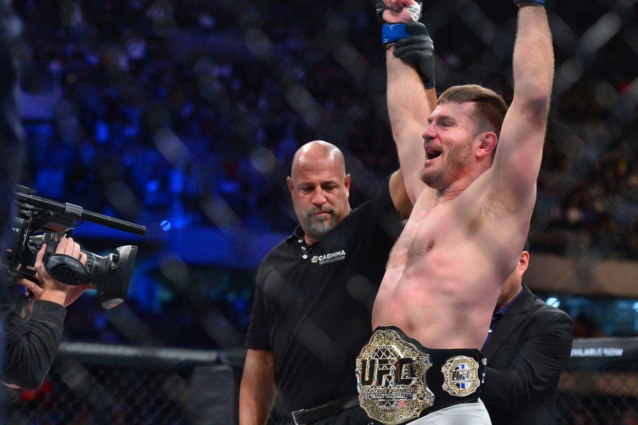 UFC 203: Stipe Miocic vs. Alistair Overeem main event set for Cleveland on Sept. 10