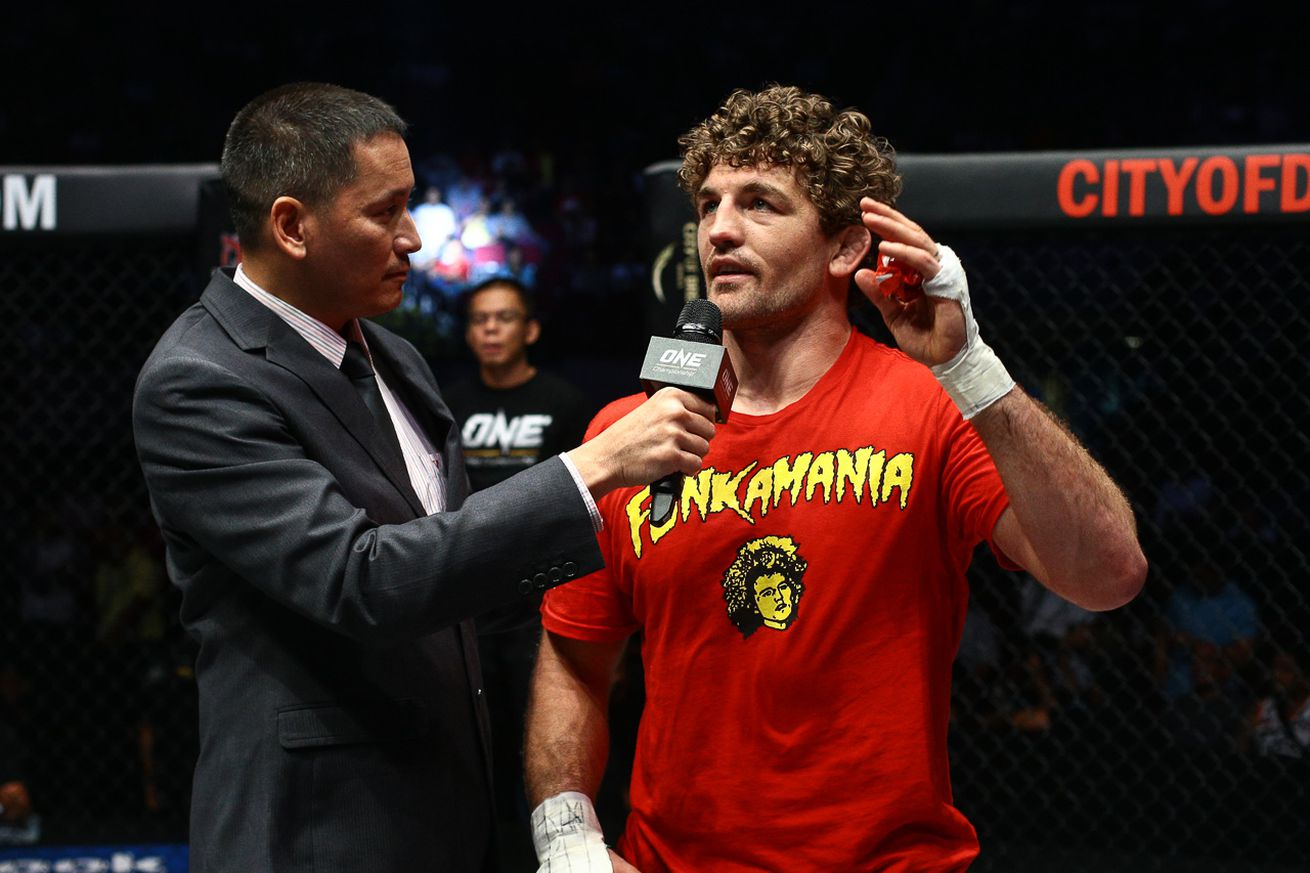 community news, ONE welterweight champion Ben Askren set to defend title against Agilan Thani