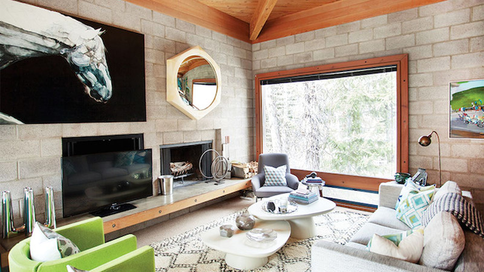 Tiny Home Designs: Step Inside A Surprisingly Glam Cinder-Block House In