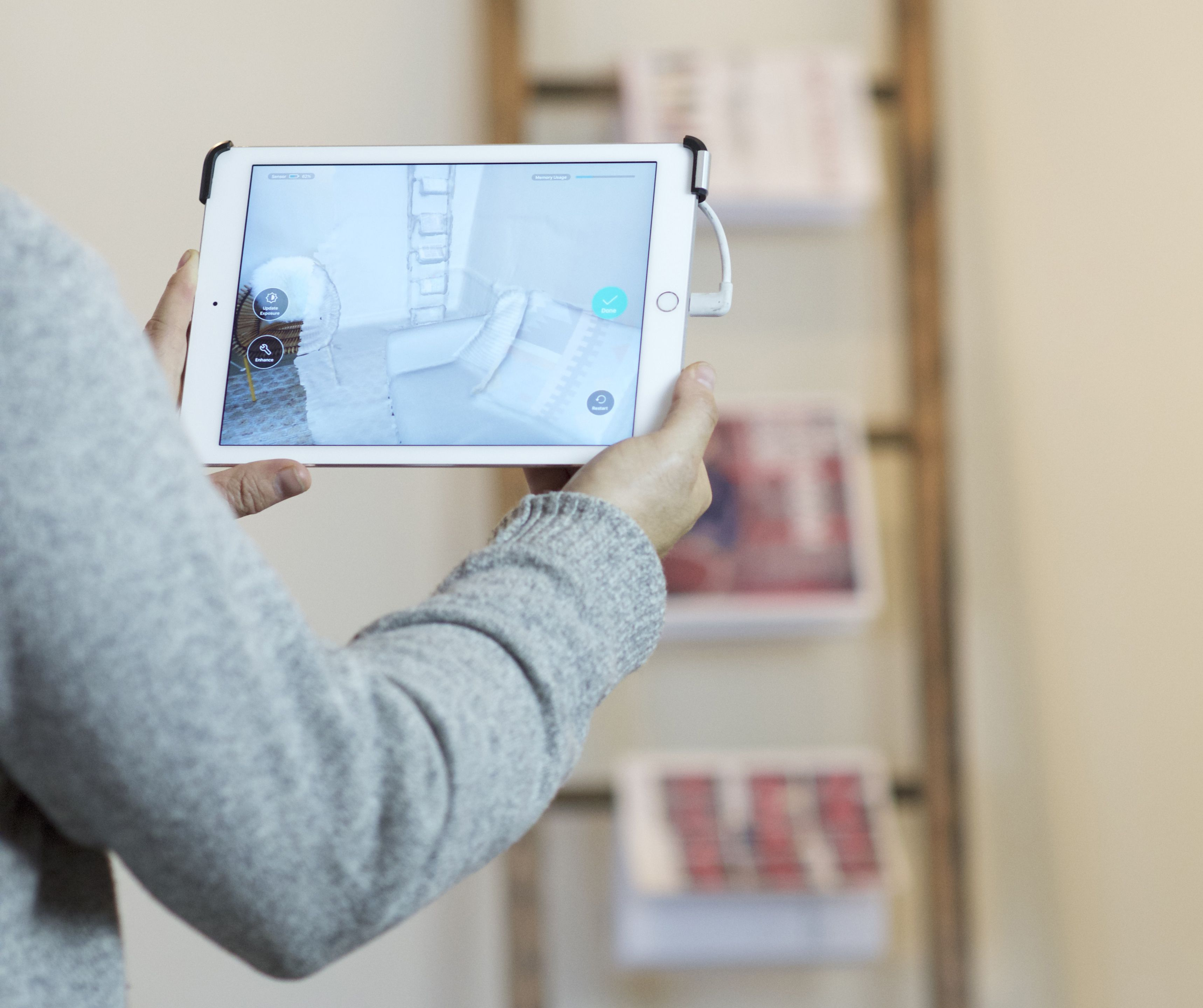 You can now scan and measure your entire home with an iPad attachment - The  Verge