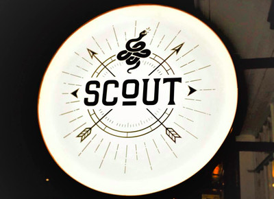 Signage for Scout.