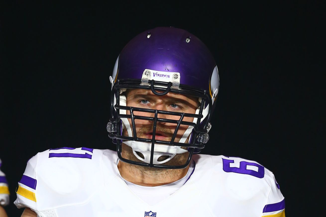 Vikings sign center Joe Berger to 1-year contract extension