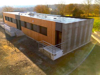 Lego-style prefab buildings quickly add 4,000 square feet to these schools