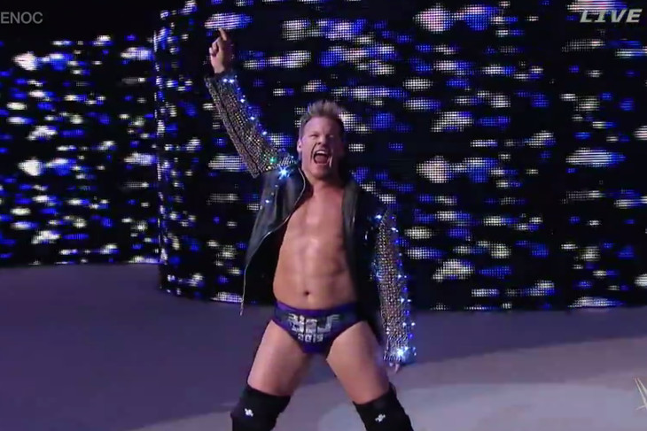 Chris Jericho 2015 Chris Jericho is Dean Ambrose