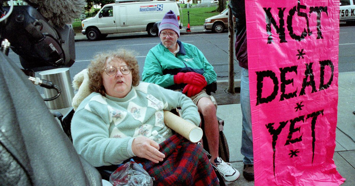 People with disabilities often fear they're a burden. That's why legal assisted suicide scares me.