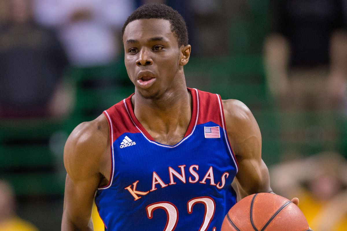 a look at bill self s recruiting at ku wings rock chalk talk former kansas forward andrew wiggins jerome miron usa today sports