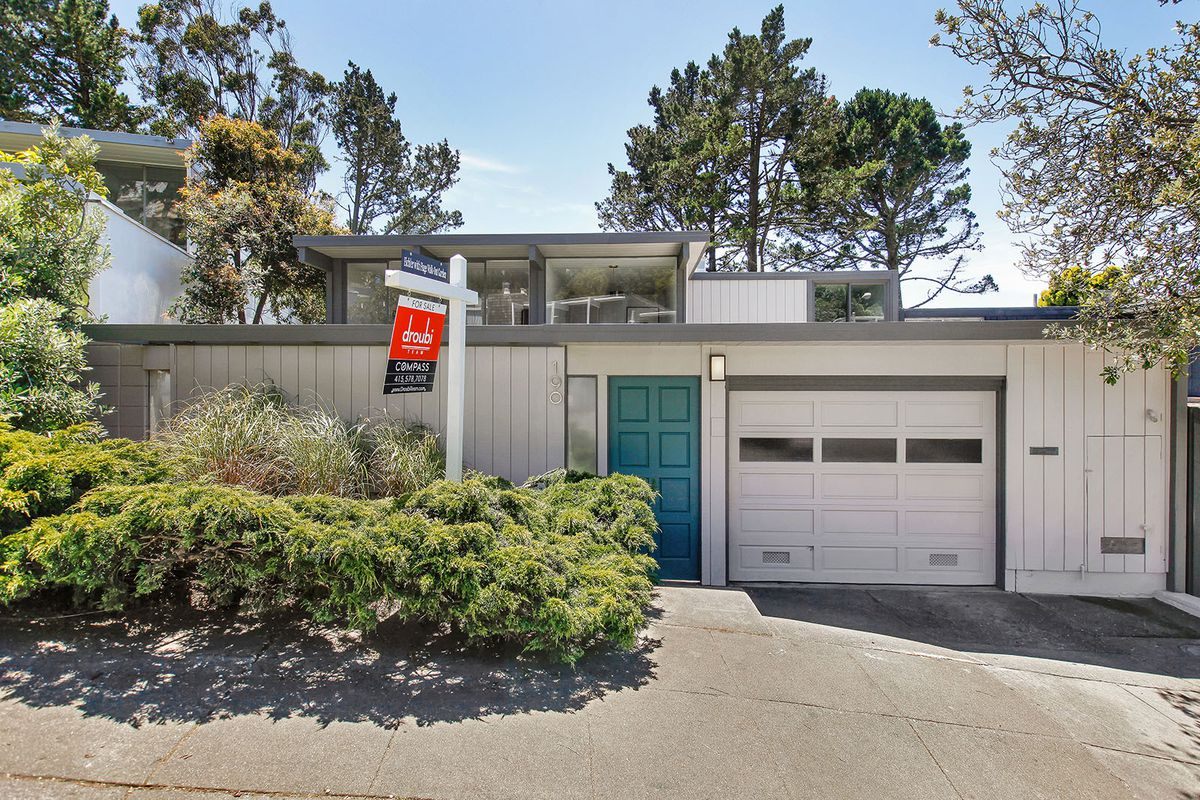 two story eichler in diamond heights asks 1 79 million
